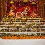 Ankot Darshan - Adhik Maas - Mothers Day - ISSO Swaminarayan Temple, Norwalk, Los Angeles, www.issola.com