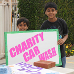 Charity - Car Wash - ISSO Swaminarayan Temple, Norwalk, Los Angeles, www.issola.com